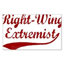 Right-Wing-Extremist-(cursive) Decal