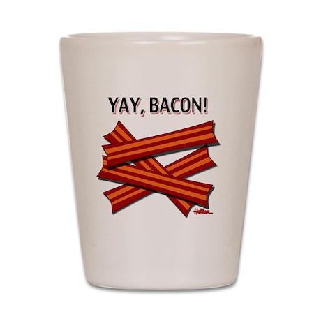 vcb-yay-bacon-2010 Shot Glass