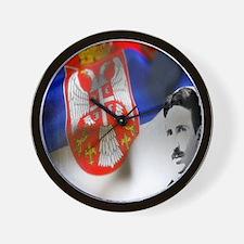 TeslaShirt Wall Clock