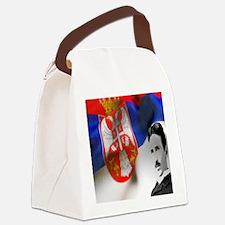 TeslaShirt Canvas Lunch Bag