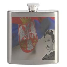 TeslaShirt Flask