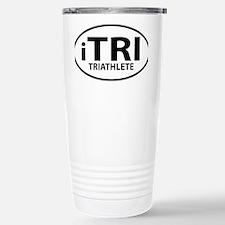 iTRI TRIATHLETE oval Travel Mug