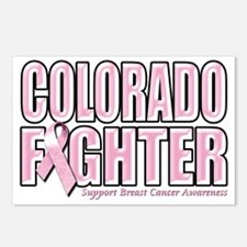 Colorado Breast Cancer Fi Postcards (Package of 8)