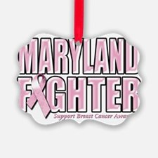 Maryland Breast Cancer Fighter Ornament