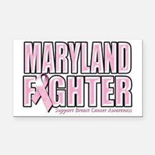 Maryland Breast Cancer Fighte Rectangle Car Magnet