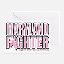 Maryland Breast Cancer Fighter Greeting Card
