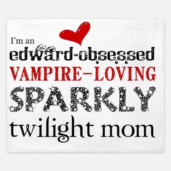 Sparkly Mom Blanket King Duvet