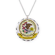 Illinois Seal Necklace