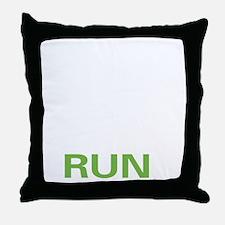 liverun2 Throw Pillow