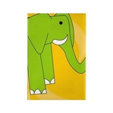 Elephant iPhone 3g Rectangle Magnet
