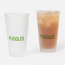 livepuggle2 Drinking Glass