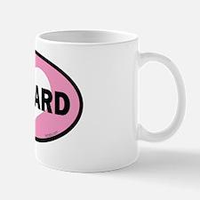 I HEART EDWARD EURO STICKER PINK HEART  Mug