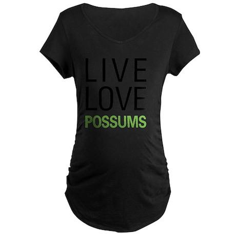 livepossum Maternity Dark T-Shirt