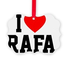 Rafa Blanket1 Ornament