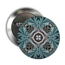 "kaleido art fractal vintage 2.25"" Button"