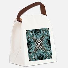 kaleido art fractal vintage Canvas Lunch Bag