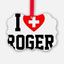 Roger Blanket 2 Ornament