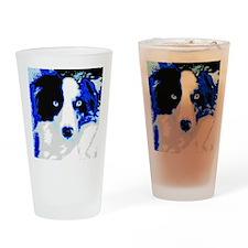 Syds Friend Slys Portrait Drinking Glass