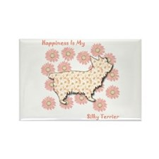 Silky Happiness Rectangle Magnet (10 pack)