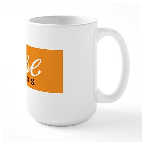 cuse_logo_orange square Large Mug