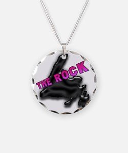 The Rock Chrome Island with  Necklace