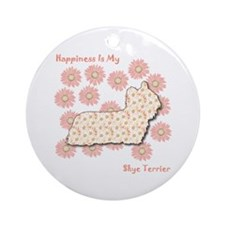 Skye Happiness Ornament (Round)