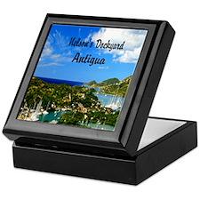 Nelsons Dockyard Antigua52x62 Keepsake Box