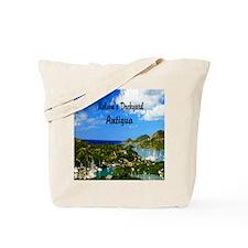 Nelsons Dockyard Antigua7.355x9.45 Tote Bag