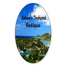 Nelsons Dockyard Antigua7.355x9.45 Decal