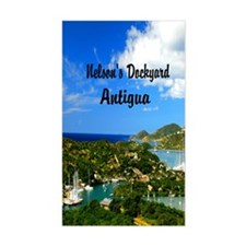 Nelsons Dockyard Antigua7.355x Decal