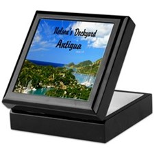 Nelsons Dockyard Antigua7.355x9.45 Keepsake Box