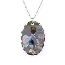 SaveTheCherubs-BrooksTed-HoltB Necklace Oval Charm