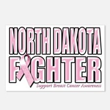 North Dakota Breast Cance Postcards (Package of 8)
