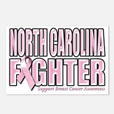North Carolina Breast Can Postcards (Package of 8)