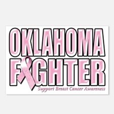 Oklahoma Breast Cancer Fi Postcards (Package of 8)