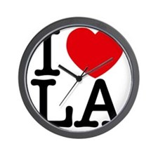 I Love LA Wall Clock