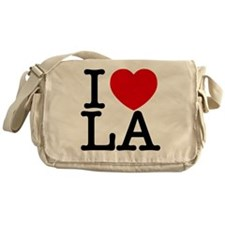 I Love LA Messenger Bag