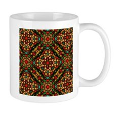 kaleido art stained glass Mugs