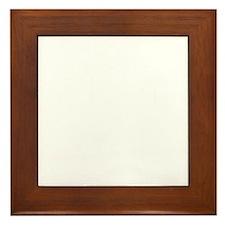 Ukulele University R Framed Tile