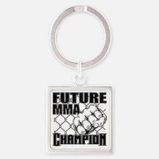 FutureMMA_01 Square Keychain