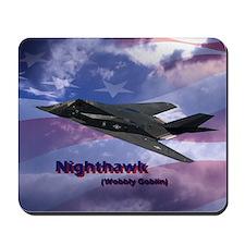 nighthawk square Mousepad