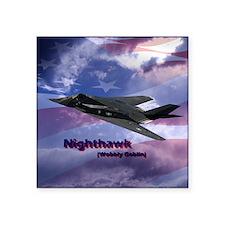 "nighthawk square Square Sticker 3"" x 3"""