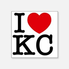 "kc_v Square Sticker 3"" x 3"""