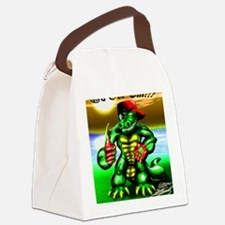 Ray Gator (9x12 Size) Canvas Lunch Bag