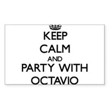 Keep Calm and Party with Octavio Decal