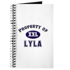 Property of lyla Journal