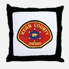 Kern County Sheriff Throw Pillow
