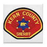 Kern County Sheriff Tile Coaster