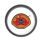 Kern County Sheriff Wall Clock
