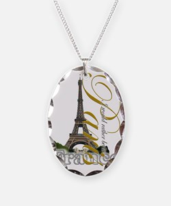 PARIS I would rather be in Necklace